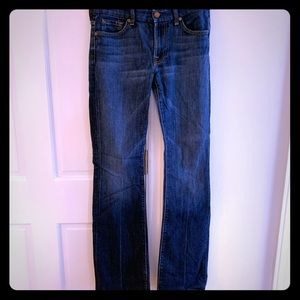 7 for All Mankind Bootcut Jeans, Size 28